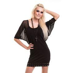 Graveyard Dress Black