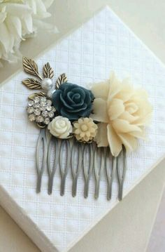 we could do hair clips for the mom's! or bridesmaids!