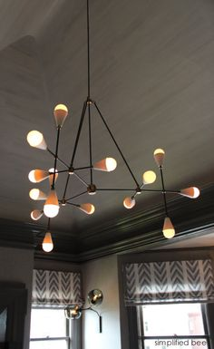 Chandelier by Apparatus // San Francisco Decorator Showcase // Kelly Hohla of Jeffers Design Group