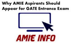 Graduate Aptitude Test in Engineering (GATE) is very prestigious Engineering Entrance exam in India for post graduate studies in engineering . A Good GATE score can boost your career not only in Post Graduate studies at IIT, NIT and other prestigious engineering colleges but also to get job in PSU. Many PSU consider Valid GATE score for job Eligibility. Advantages Continue reading   Why AMIE Aspirants Should Appear for GATE Entrance Exam ?→