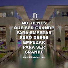 Empieza AHORA! #motivacion #JaimeDiaz #exito #emprendimiento #dinero #money #luxuryhomes