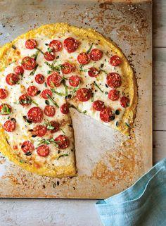 Gluten-Free Polenta Crust Pizza | 27 Healthy Versions Of Your Kids' Favorite Foods