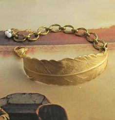 Craft ideas:Bent Feather Bracelets - Pandahall.com