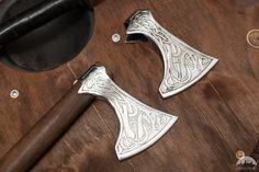 Wikinger Streitaxt aus rostfreiem Stahl