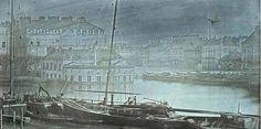 Daguerreotype of the 1843 Nantes flood