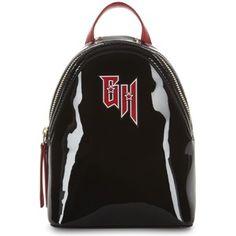 Tommy Hilfiger x Gigi Hadid patent leather backpack