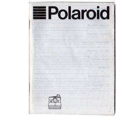 POLAROID INSTRUCTION MANUALS FOR SALE .. Polaroid Madness, Ireland