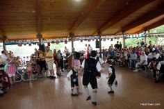 Junior Schuhplatter dancing at #Biergartenfestival in 2011. Photo via @heiditownco biergartenfest.com
