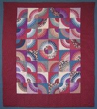 Kaleidoscope Star Patchwork Amish Quilt 100x112