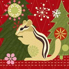 Mod.Holiday.-.02.of.08.-.Chipmunk.-.Jennifer.Brinley