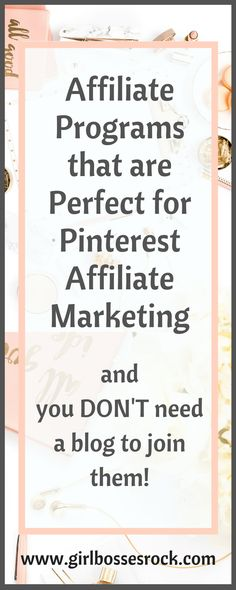 Looking for ideas on how to make money with Pinterest? Check out FREE training and my list of affiliate programs that are perfect for Pinterest affiliate marketing! #pinterest #AffiliateMarketing #pinterestmarketing #affiliateprograms