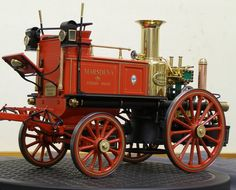 Steam Fire Engine ...  =====>Information=====> https://www.pinterest.com/tanglefoottoo/steam-power/