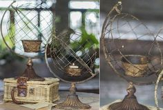 French Wire Globe