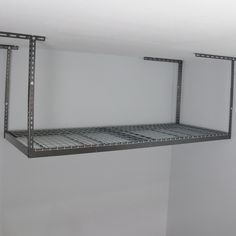 Make garage storage simple with this overhead storage rack. The racks come in different sizes giving you a variety of heights for…