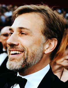 Christoph Waltz. Definitely one of the oldest guys on my list, but I just find him so interesting and appealing.