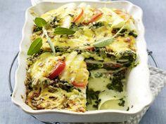 Vegetarische Aufläufe – Ofen-Hits mit viel Gemüse - kohlrabi-lasagne7  Rezept