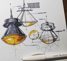 Interior Design For Living Room Interior Design Sketches, Industrial Design Sketch, Sketch Design, 3d Design, Industrial Design Portfolio, Drafting Drawing, Object Drawing, Sketch Markers, Technical Drawing