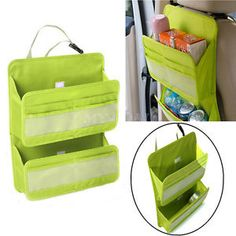 Car-Auto-Seat-Multi-Pocket-Hanging-Holder-Bag-Organiser-Storage-Pouch-Back-Tidy