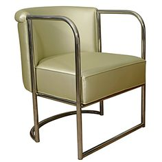 Louis Sognot Armchair | From a unique collection of antique and modern armchairs at http://www.1stdibs.com/furniture/seating/armchairs/