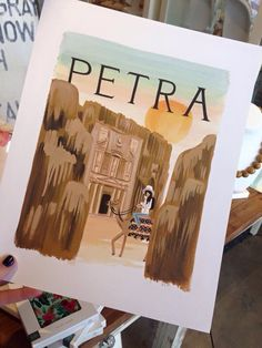 Petra Art Print $40