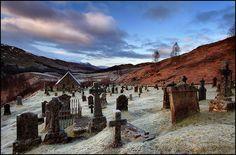 Cille Choirill church + graveyard - Scotland
