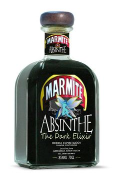 Marmite Absinthe Limited Edition Spoof Bottle