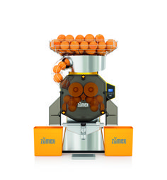 Speed Pro Self-Service. Smart Self-Service, juicer for high demand locations such as hotels or self-service areas.