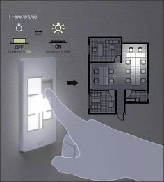 floor-plan-light-switch.. good to know if certain room lights are on