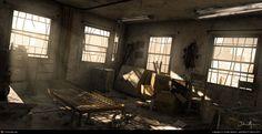 Abadoned Asylum by Dustin Mellum | 3D | CGSociety