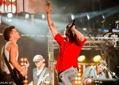 The Jake Owen Summer Block Party in Nashville 8/19/2013.