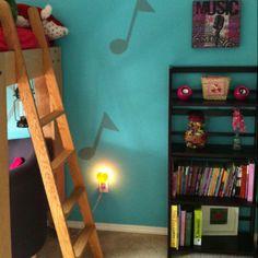 My tween girl's room.