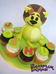 Raa Raa The Noisy Lion Cake & Cupcakes