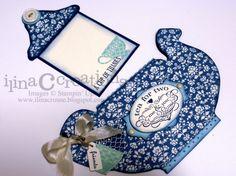 Tea Shoppe tea pot by Ilina Crouse. This would make a great tea party invitation! Cute Cards, Diy Cards, Your Cards, Carton Invitation, Coffee Cards, Shaped Cards, Folded Cards, Creative Cards, Homemade Cards