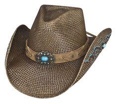 Angel-one Unisex New Western Cowboy Hat,Hollow Rodeo Cowboy Straw Pinch Hat Wide Brim Hand-Woven Straw Hat,Spring and Summer Outdoor Travel Sun Hat