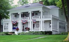Happy 4th of July from Harbor Springs, Michigan.