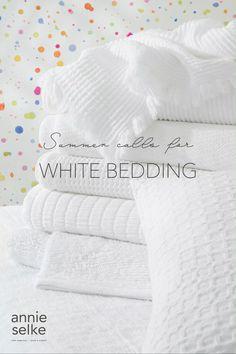 Ivory Bedding, White Bedding, King Duvet Cover Sets, Duvet Covers, Built In Bed, White Sheets, Sheet Sets, Crisp, Bedroom Decor