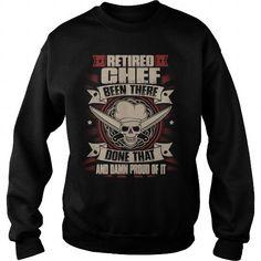 Awesome Tee Retire Chef T shirts Papa Bear Shirt, Chef Shirts, Shark T Shirt, Hoodies, Sweatshirts, Cool Tees, Holidays Events, Art Cars, Science Nature