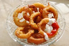 Homemade onion rings take a bit of work, but they are worth the effort, as they make an excellent appetizer or side dish.