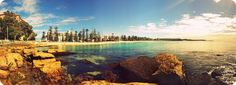 Best place on earth! Just got back from here with my hubby. No photoshopping here. Sydney Beaches, Manly Beach, Great Walks, Beach Boardwalk, Cairns, Travel Images, Sydney Australia, South Wales, Far Away