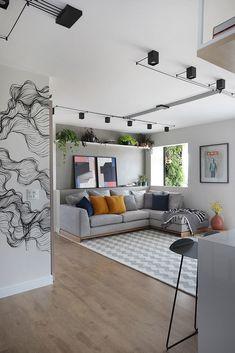 diy home decor living room Home Living Room, Apartment Living, Living Room Decor, Bedroom Decor, Interior Design Living Room, Living Room Designs, Light In, Apartment Design, Interior Architecture