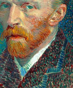 Van Gogh - Self-portrait (1887)