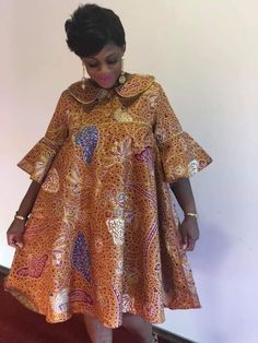 African Fashion Ankara, Latest African Fashion Dresses, African Print Fashion, Short African Dresses, African Traditional Dresses, African Attire, African Dress, Midi Length Dresses, African Outfits