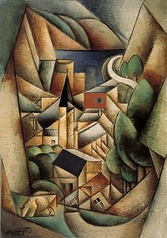 Jean Metzinger, Les Baigneuses (The Baithers), oil on . Cubist Artists, Cubist Paintings, Cubism Art, Abstract Expressionism, Abstract Art, Art Picasso, Georges Braque, Fauvism, Art History