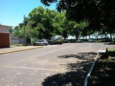 Estacionamento do Centro de Assistência Odontológica à Pessoa com Deficiência – CAOE, UNESP - Araçatuba – SP