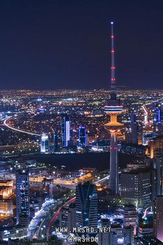 Kuwait City by MRSHD, via Flickr