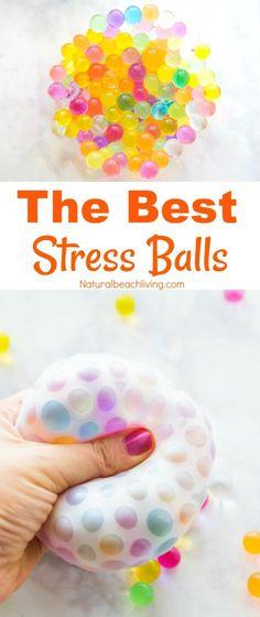 How to Make Stress Balls The best cheap stress balls everyone loves DIY stress balls Stress relief DIY therapy ball Stress balls kids make sensory play Orbeez Balls Fun Crafts, Diy And Crafts, Arts And Crafts, Science Crafts, Simple Crafts, Beach Crafts, Paper Crafts, Diy Stressball, Best Stress Ball