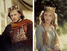 Michael Marcus as Henry Tudor/Henry VII  and Freya Mavor as Elizabeth of York/Queen Elizabeth
