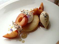 Ian Regino, L'Art de la Patisserie 2011, is a pastry cook at Homestead Restaurant in Chicago.  Check out the dessert menu!