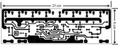 Projeto de amplificador de 500 Watts versão mono com transistores MOSFET. Circuit Design, Susa, Circuit Diagram, Audio Amplifier, Electronics Projects, Arduino, Layout, Box, Electronic Circuit