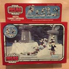 More Star Wars to keep in theme with the week!  Who got down with the micro collection stuff? The play sets were the best! Hands down some of my fav toys #starwars #hoth #empirestrikesback #esb #kenner #vintage #vintagetoys #80s #80stoys by 80stoys